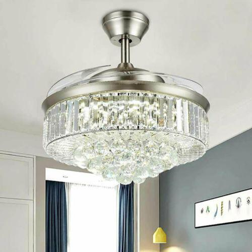 Chandelier Light Remote Retractable