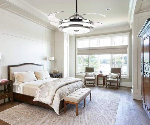 """42"""" Retractable LED Ceiling Lamp w/ Light Remote"""