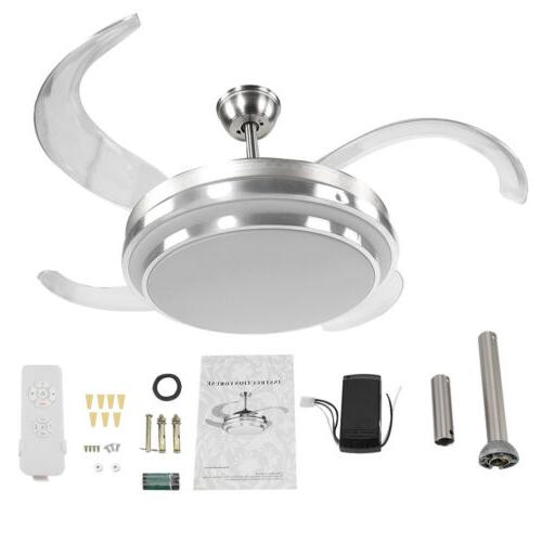"""42"""" Retractable Lamp w/ Light Control Dimmable"""