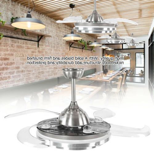 """42"""" Ceiling Lamp Control Dimmable LED Chandelier"""