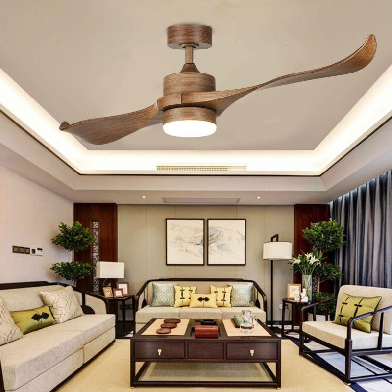 52 contemporary ceiling fan led panel light