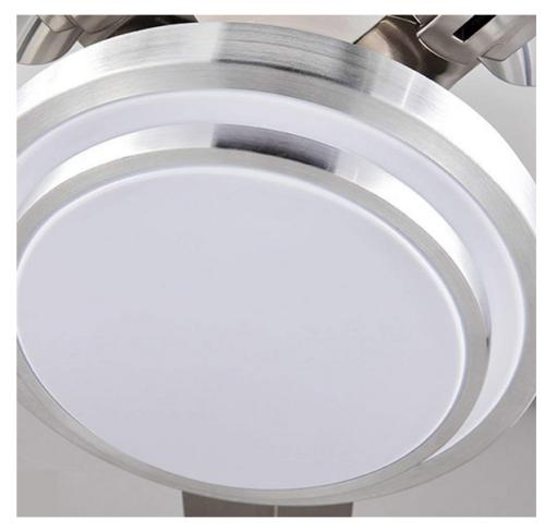 """52""""Control Remote Ceiling Chandelier Home"""