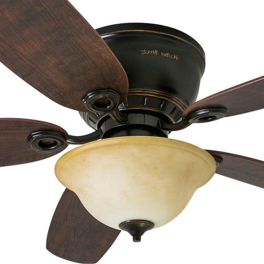 52-in Flush Indoor Fan and