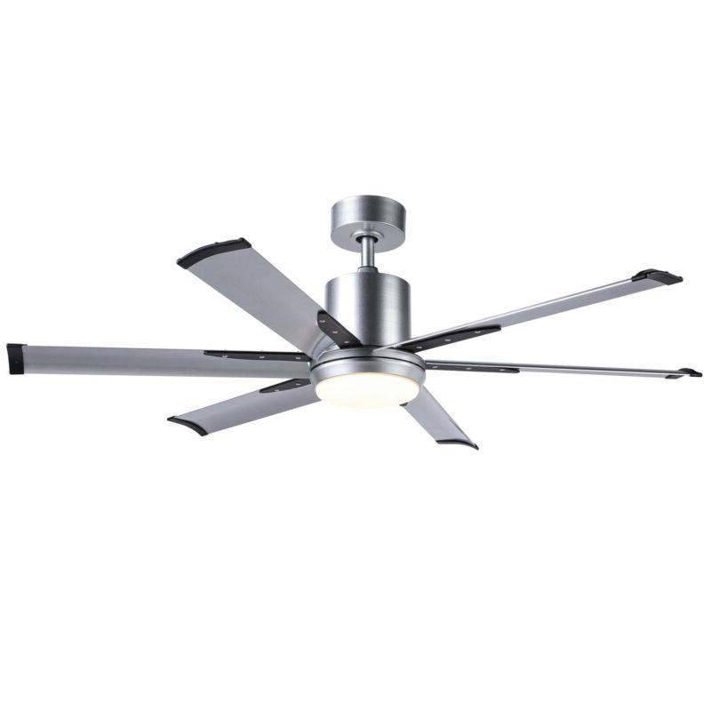 Hot with Blades &White Glass LED Light