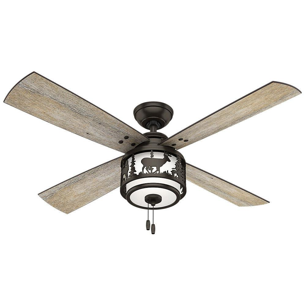 "Hunter 52"" Ceiling Fan with Light - 59200"