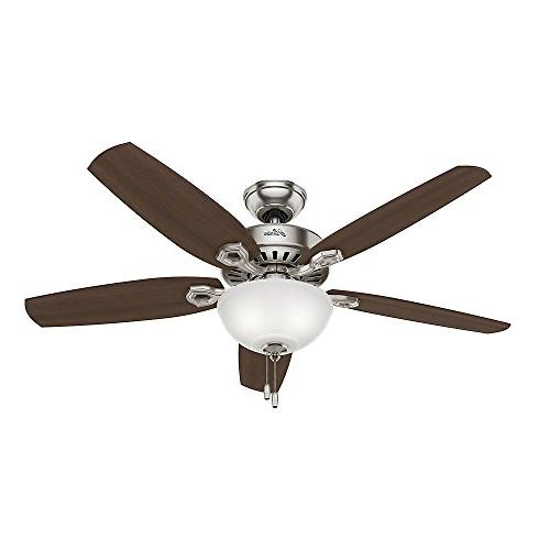 Hunter 53090 Builder Deluxe 5-Blade Single Light Ceiling Fan