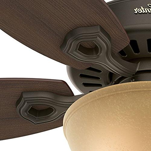 Hunter 53091 Builder 52 Brazilian Indoor Ceiling Fan with