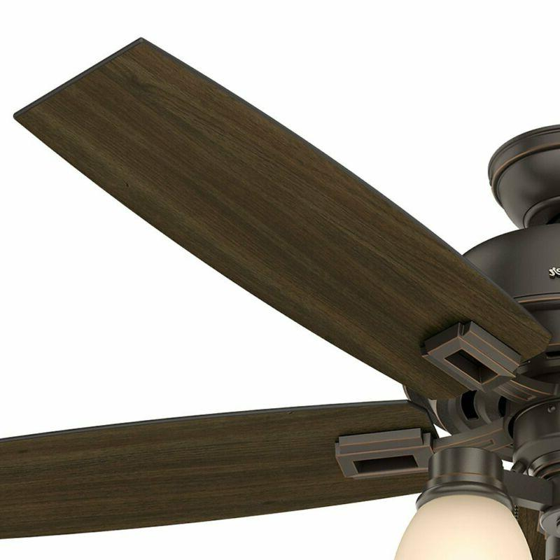 "Hunter Fan Hunter 52"" Bengal Ceiling Fan With Light,"