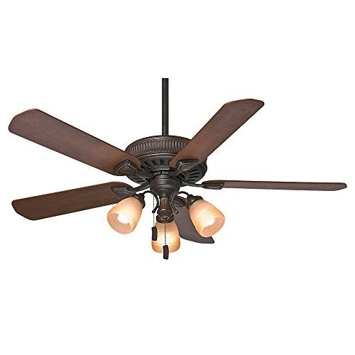 Casablanca Fans 54006 Ainsworth Gallery 54 Ceiling Fan, Onyx