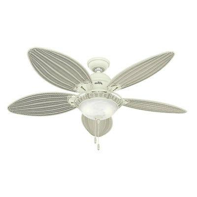 Hunter 54094 Caribbean Breeze 54-Inch Textured Ceiling Fan w