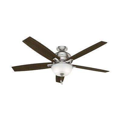 Hunter Fan Company 54172 Donegan Indoor Ceiling Fans Brushed