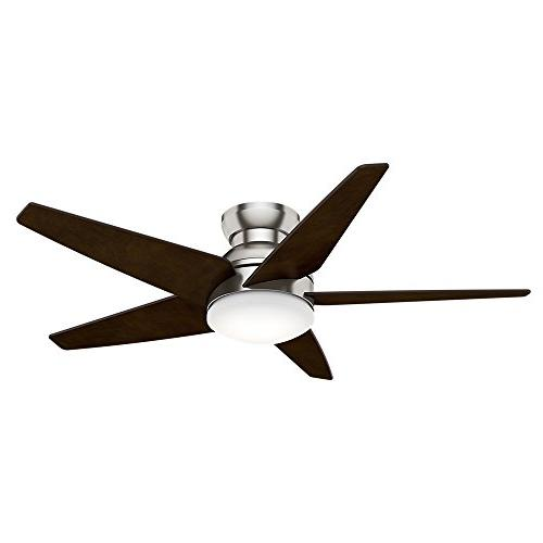 Casablanca Fans 59022 Isotope 52 Ceiling Fan, Brushed Nickel