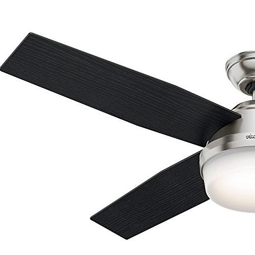Hunter Dempsey Brushed Fan with and Remote