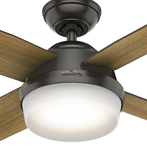 Hunter Light Ceiling Handheld Remote, Small, Noble Bronze