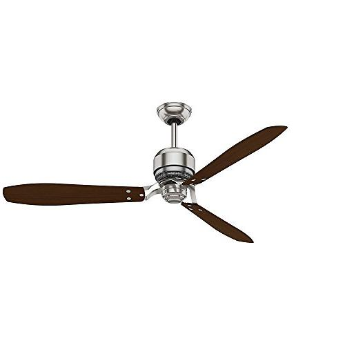"Casablanca 59504 Tribeca 60"" Brushed Nickel 3 Blade Ceiling"