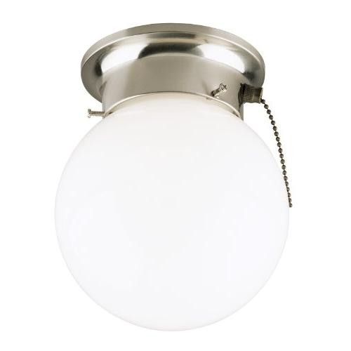 6720800 one-light flush-mount interior ceiling fixture with