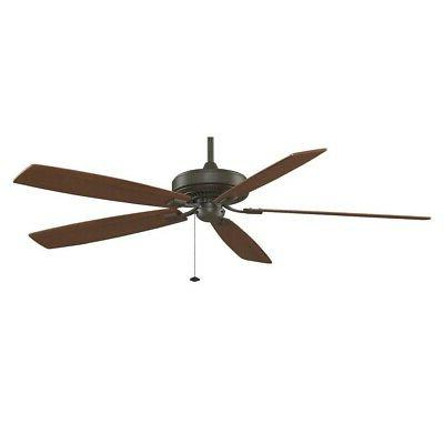 72 Edgewood 5 Blade Ceiling Fan - Finish: Oil Rubbed Bronze