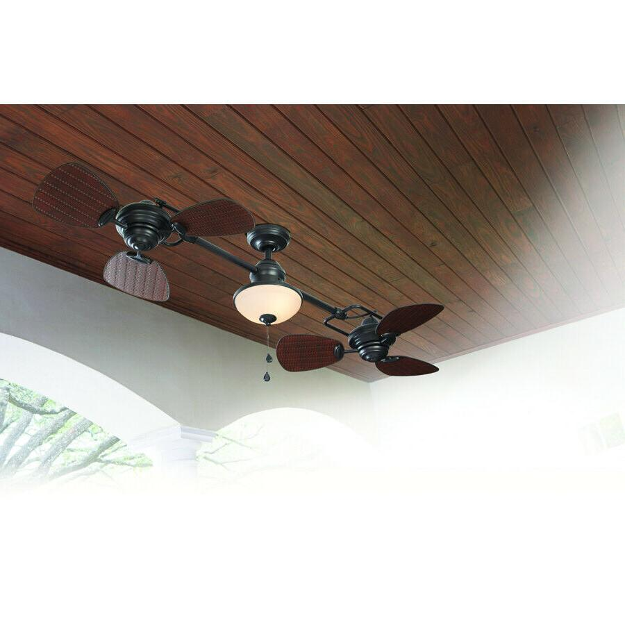 "74"" Ceiling Fan Outdoor Double"