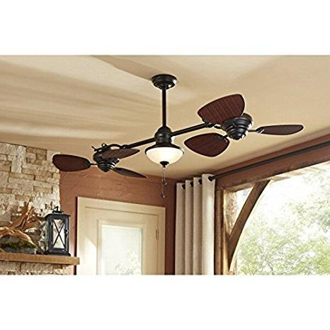 Harbor Breeze Twin Outdoor Downrod Ceiling Fan