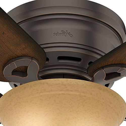 Hunter 51023 Onyx Ceiling with Blades a Kit