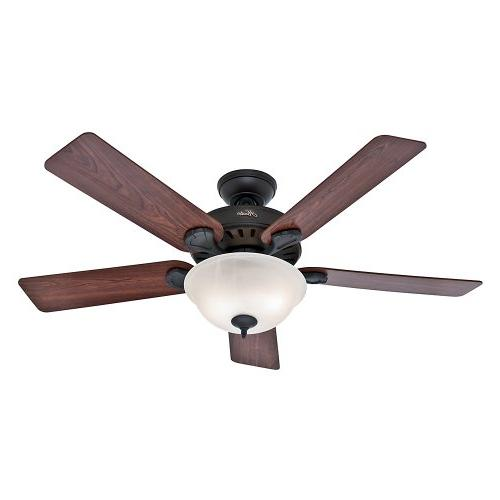 "Hunter - 52"" Ceiling Fan - New Bronze"