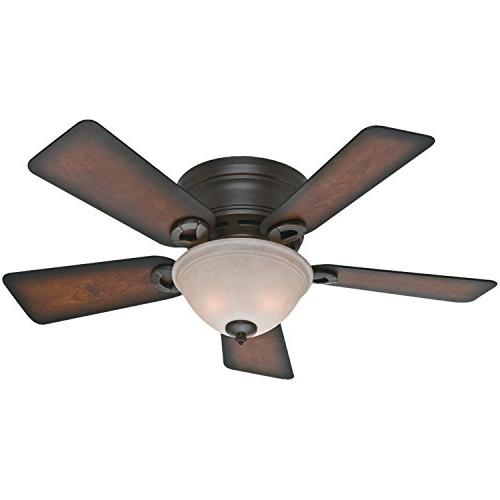 Hunter 51023 Conroy 42-Inch Onyx Bengal Ceiling Fan with Fiv