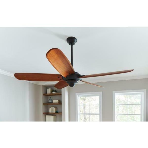 Altura Indoor Oil Rubbed Bronze Ceiling Fan 68 in. 1 BLADE O