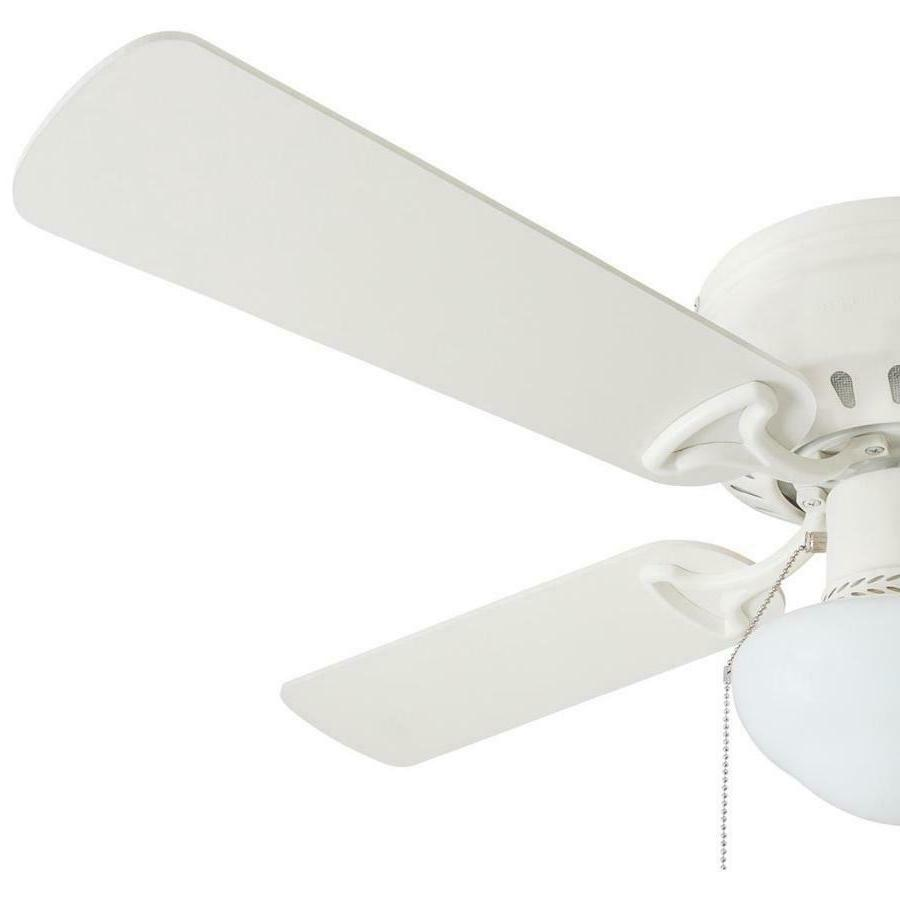 HARBOR INDOOR FAN in WHITE with Light Kit ARMITAGE