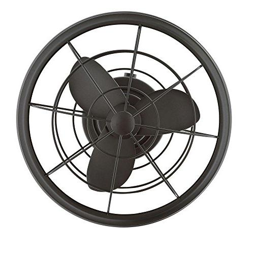 Home II Natural Iron Oscillating Fan