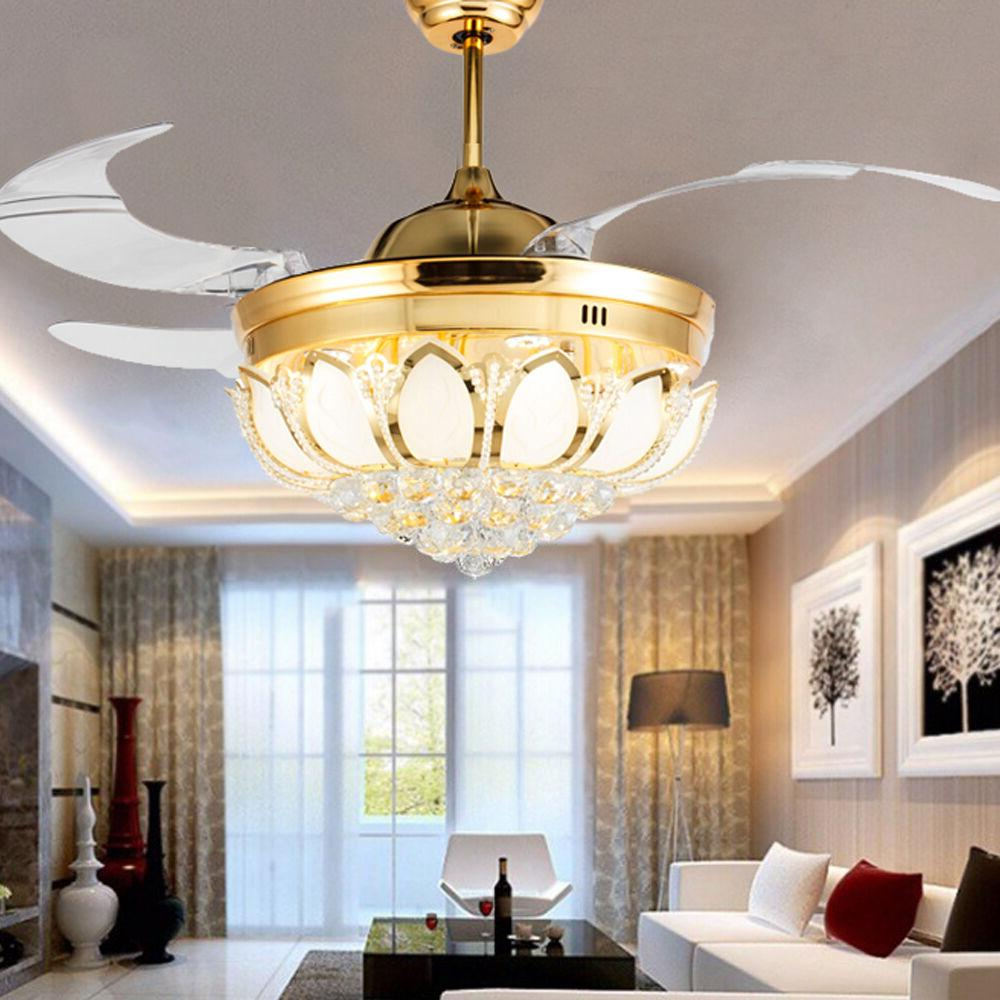 BEST DEAL!Ceiling Fan Crystal Remote Control with Lights Inv