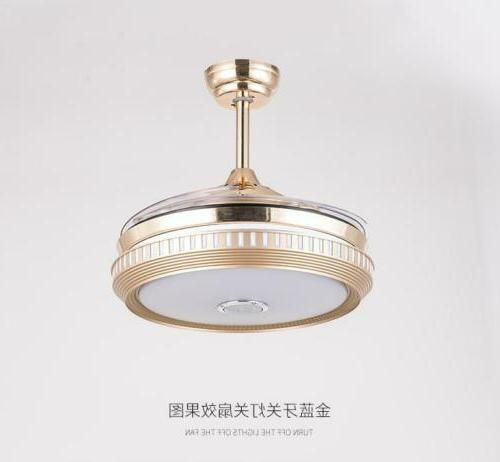 LED Dimmable Remote Retractable Blade Lamp