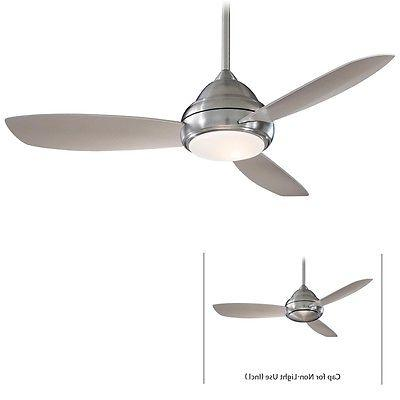 """Minka Aire F517-BN Concept I Brushed Nickel 52"""" Ceiling Fan"""