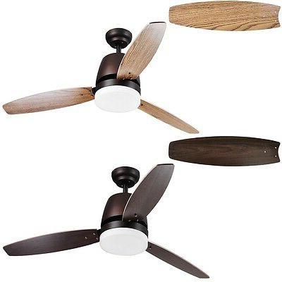 Bronze Maple Blade w/ Dimmable LED Light Control Home Decoration Opt