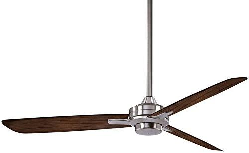Minka-Aire Ceiling Fan, Brushed Finish with Blades