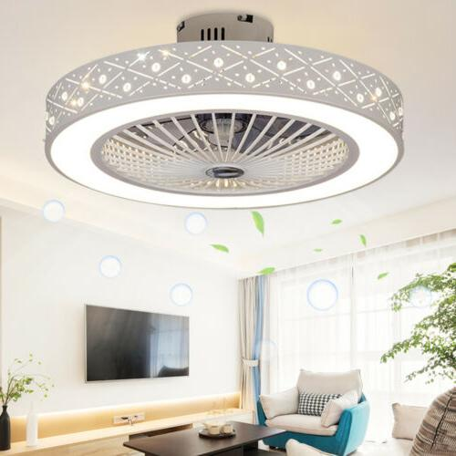 22'' Round Light Remote Control LED Lamp Office