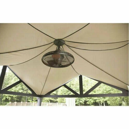 Ceiling Fan Bronze 3 Blade Porch Cool