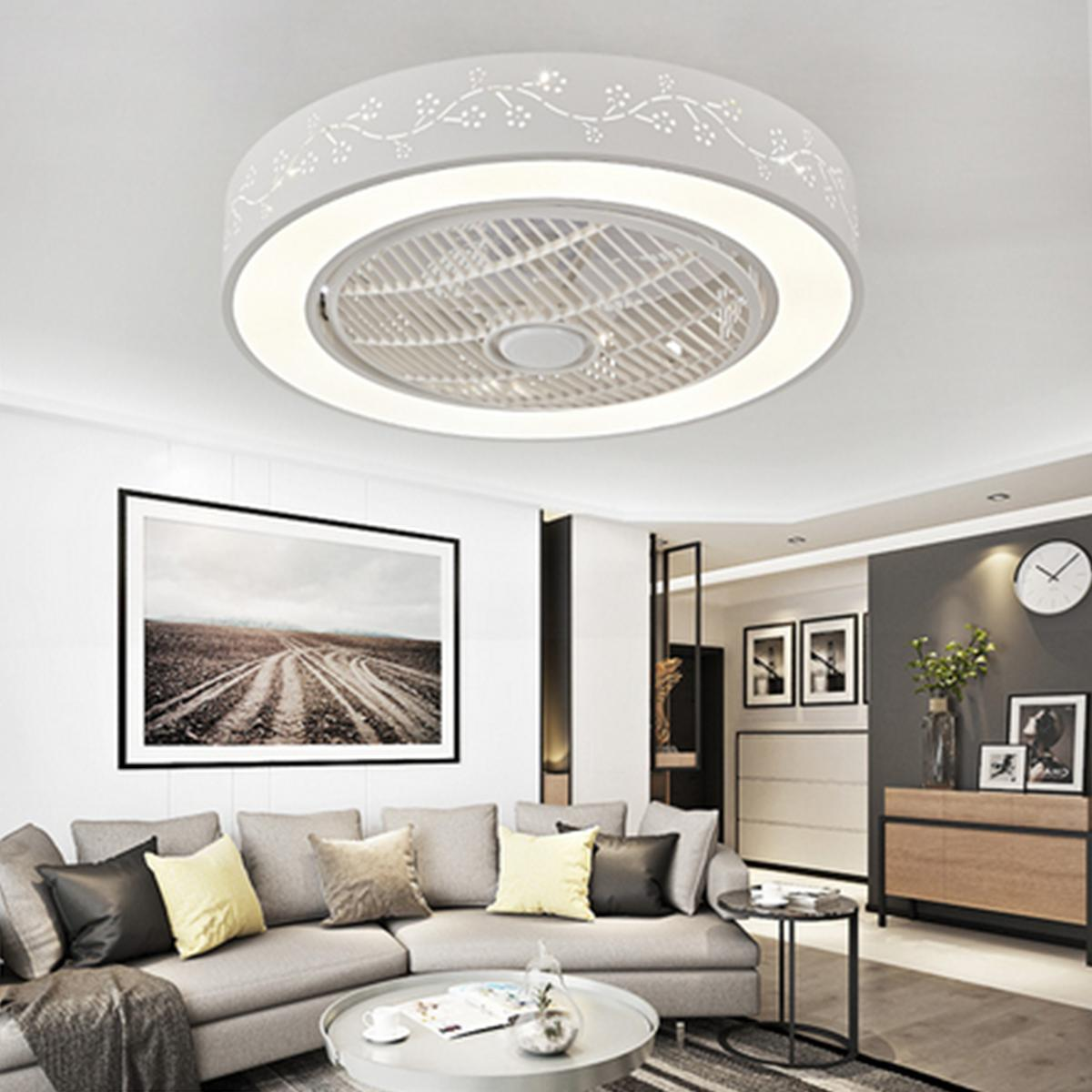 Ceiling Remote Control LED Lamp Flower