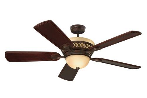 Emerson Braddock, Indoor With Light And 54-Inch Blades, Venetian Bronze Finish