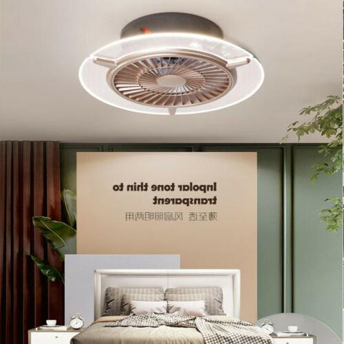 Ceiling Light Gold color light fan Control home