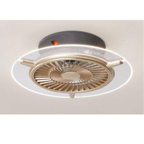 ceiling fans light gold color modern led
