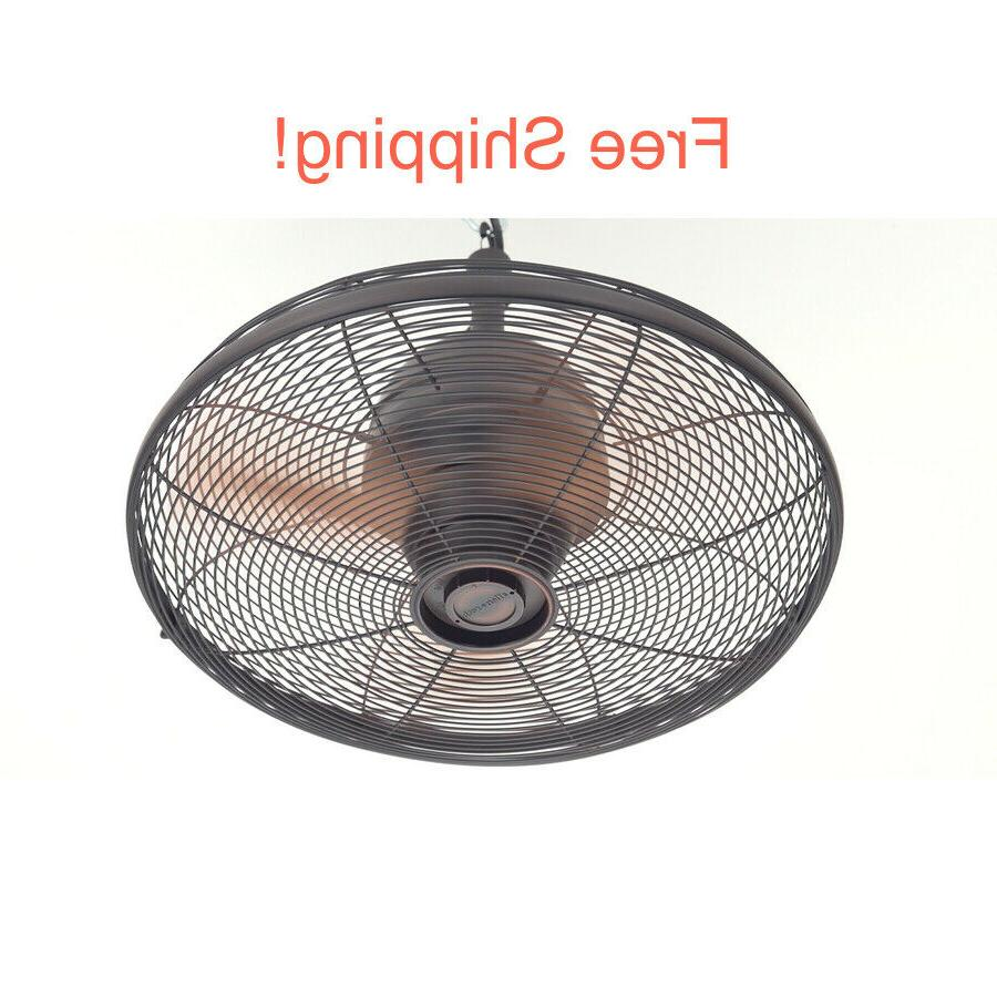 """Commercial Residential Ceiling Fan 3 Blade 20"""" Indoor Outdoo"""