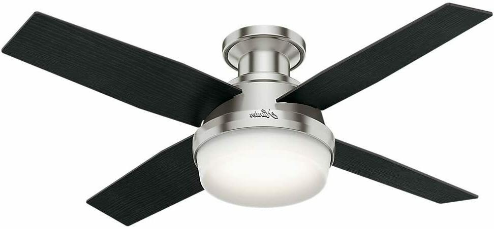 Hunter Dempsey Fresh White Contemporary Indoor Ceiling Fan w