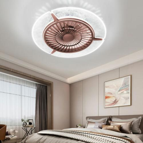 dimmable 42 invisible ceiling fan lamp bluetooth