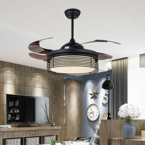 "42"" Ceiling Fan with LED Light and Remote Control Color Temp"