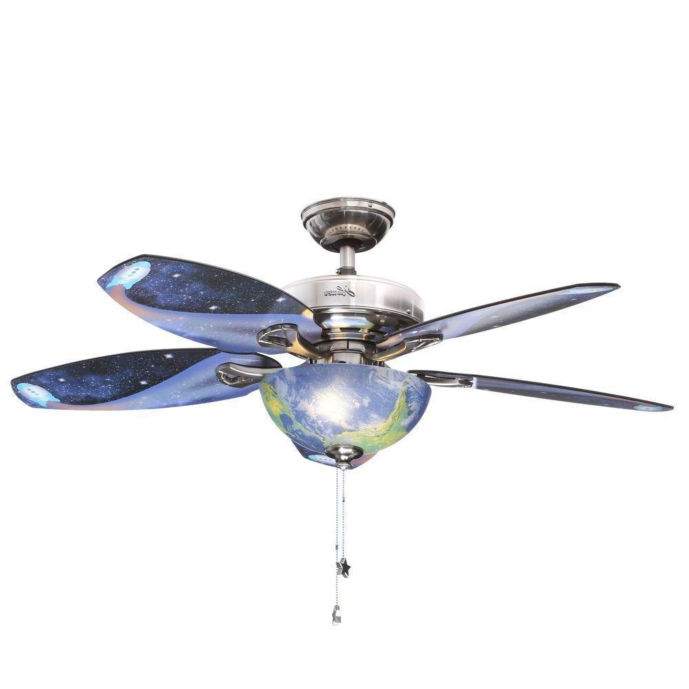 discovery indoor brushed nickel ceiling