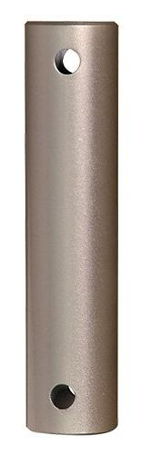 """Fanimation DR1SS-60BNW 60"""" Stainless steel Downrod : Brush N"""