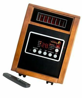 Dr Infrared Heater Elite Series 1500-Watt Dual Heating Porta