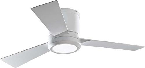 flush mount white indoor ceiling