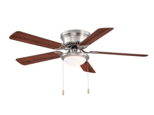 Hampton Bay Southwind Ceiling Fan 52 in LED Indoor Brushed N