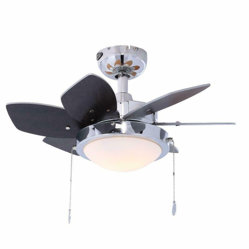 Indoor Westinghouse Chrome 24 in. Ceiling Fan Light Small Ro